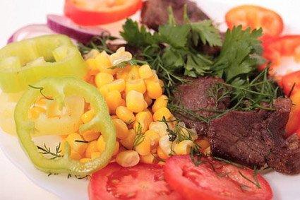 Un pò di carne con verdure