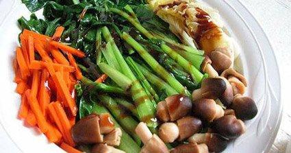 Le verdure bollite