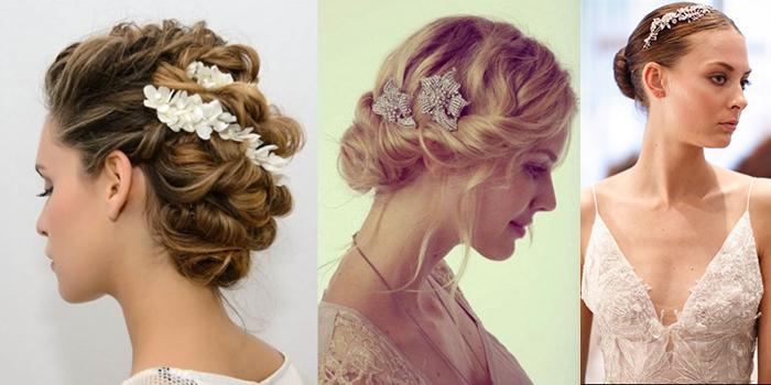 I tre accessori più interessanti per un acconciatura da sposa ... a73d707c7ee2