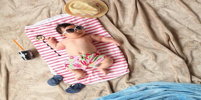 come idratare la pelle del bambino